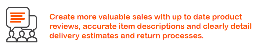 Whistl Tip - Create more valuable sales with product reviews, descriptions and delivery estimates.PNG